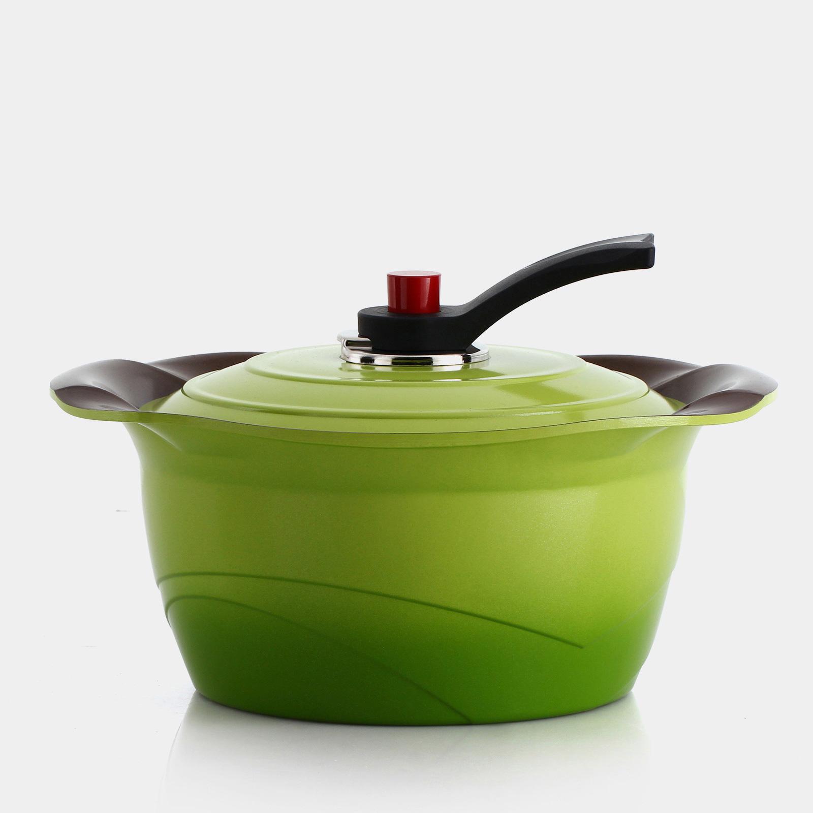 퀸센스 튤립 통주물 세라믹 냄비-양수20cm